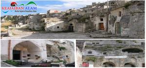 Keajaiban Alam Ancient Rock City of Matera, Italy