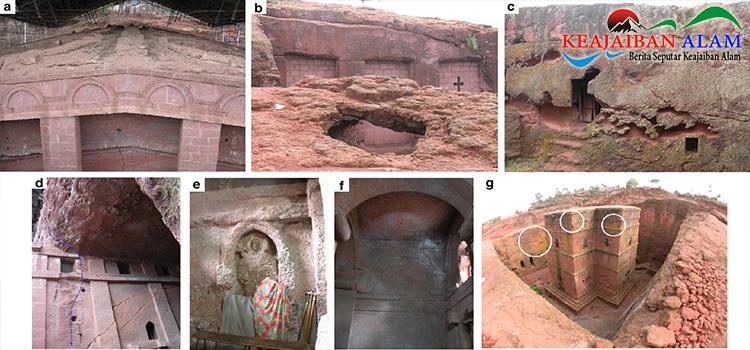 Keajaiban AlamRock-Hewn Churches of Lalibela, Ethiopia