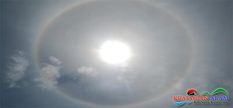 Keajaiban Alam Cincin Matahari