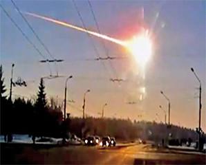 Pecahan Meteor Sampai Ke Bumi!