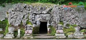 Keajaiban Alam Goa Gajah, Elephant Cave Temple, Bali