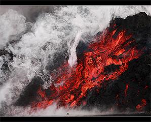 Keajaiban Alam dengan Letusan Gunung Berapi Vulkanik di Islandia