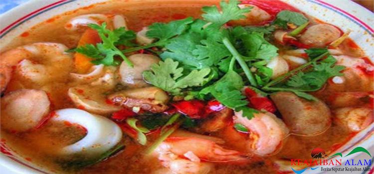 Cara Membuat Sup Udang Asam Tom Yum Goong