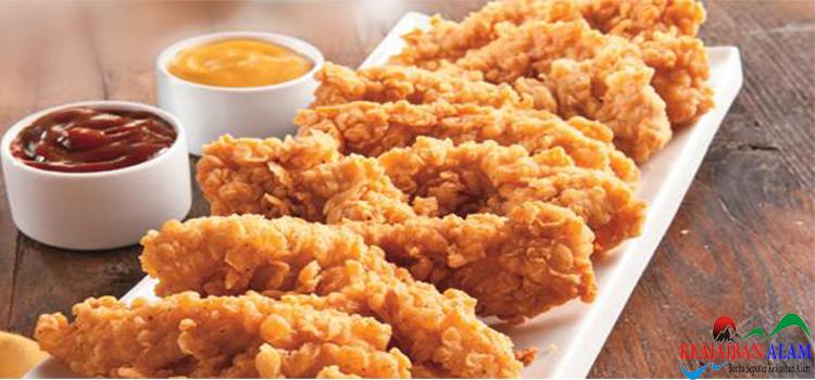 Resep Membuat Chicken Finger nugget Gurih Dan Enak