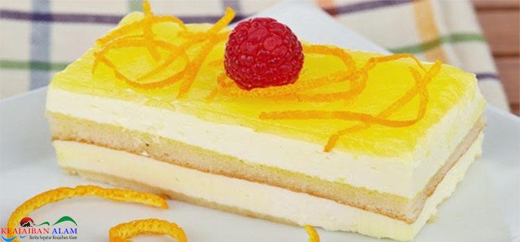 Resep Membuat Cake Lemon Cream Gateu