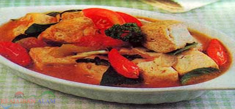Resep Membuat Tahu Masak Tomat
