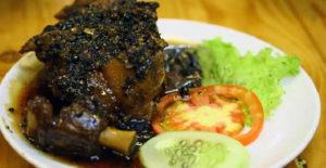 Buntut Caramel Lada Hitam – Masakan Khas Jakarta
