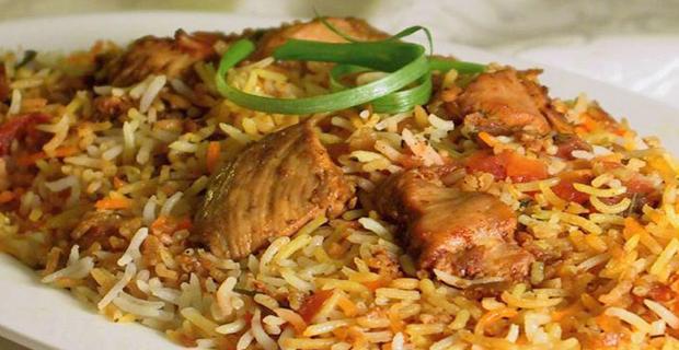 Nasi Briyani Ayam khas India