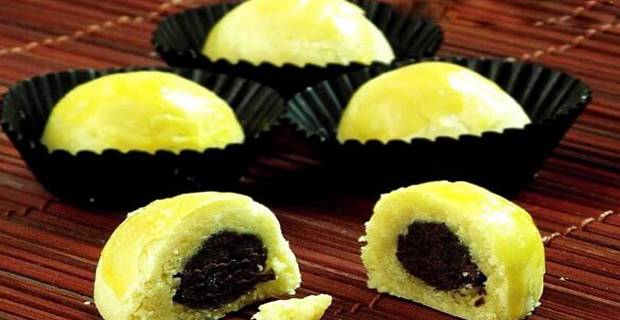 Kue Nastar Isi Double Cokelat