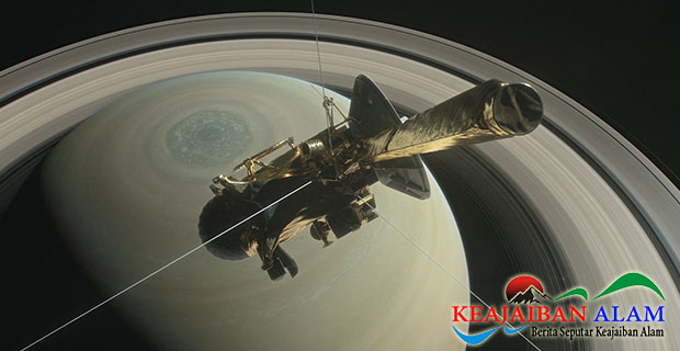 13 Tahun Perjalanan Wahana Tanpa Awak di  Ruang Angkasa, Cassini Akhirnya Hancur di Saturnus