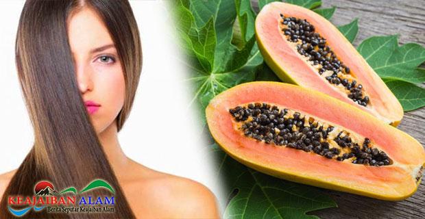 Rasakan Manfaat Masker Pepaya Yang Tinggi Kandungan Vitamin C Dalam Menutrisikan Rambut