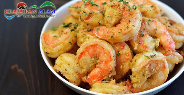 Resep Garlic Shrimp Mentega Yang Nikmat
