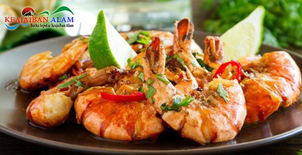 Resep Praktis Masakan Udang Saus Mentega