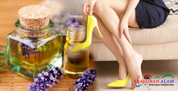 Bau Kaki Tidak Tertahankan? Atasi Dengan 4 Bahan Alami Ini Salah Satunya Minyak Lavender