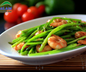 Resep Tumis Asparagus Campur Udang