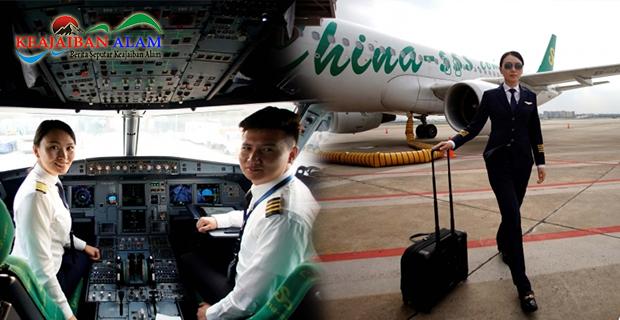 China Hadirkan Pilot Wanita Cantik Sebagai Kapten Penerbangan Maskapai Spring Airlines, Siapa Sosok Dirinya?