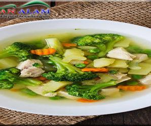 Resep Sup Ayam Brokoli, Sajian Lezat dan Maknyos