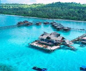Keindahan Alam Dikepulauan Derawan Kalimantan Timur