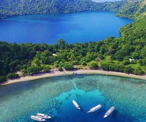 Menikmati Danau Asin di Taman Wisata Alam Pulau Satonda