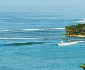 Surfing di Sorake, Taklukkan Ombak Setinggi 10 Meter
