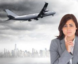 Trik Mengatasi Fobia Naik Pesawat