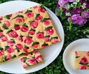 Resep Jelita Cake, Cake Lukisan Enak dan Lembut !
