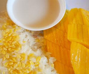 Mantap Resep Mango Sticky Rice Asli Thailand